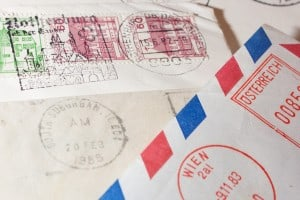 Don't have a clue as to what the date was?  Postmarks reveal a wealth of information.