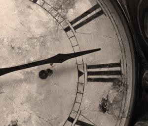Family heirloom antique clock