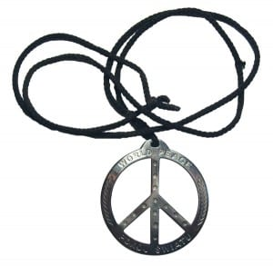 fashion history peace sign