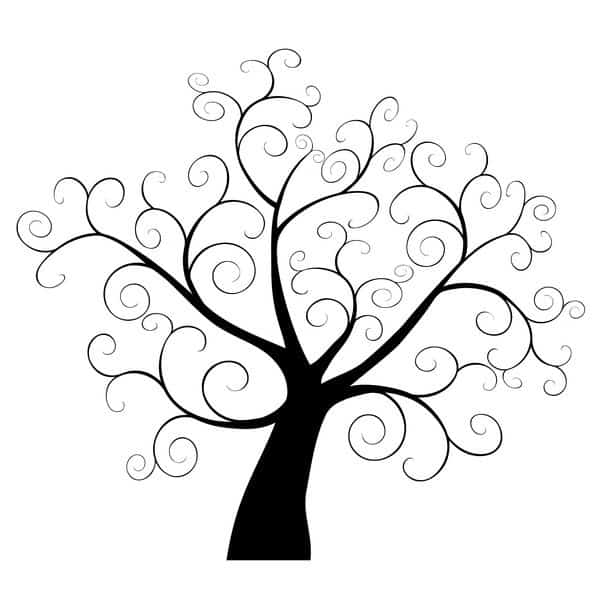 Family history month activities for non genealogists for Draw a family tree template