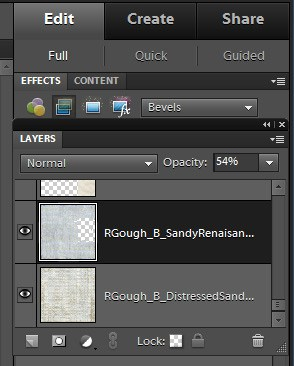 Remember the romance setting layer transparency