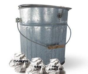 Anti-bucket list