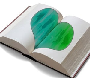 bond with readers via heart on page
