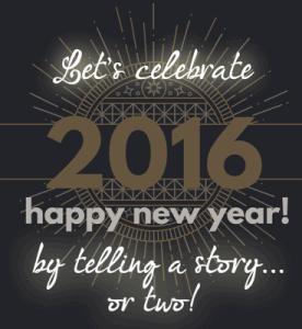 Year end letter illustration