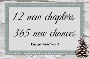 12 new chapters in the new year