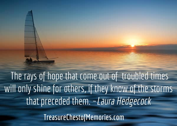 Gift of Hope quote by Laura Hedgecock