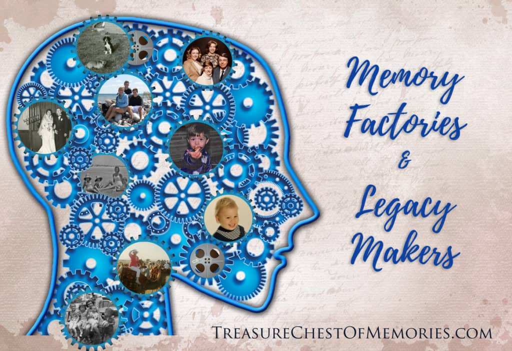 Memory Factories and Legacy Makers Graphic