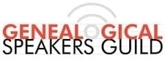 Genealogical speakers guild logo