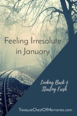 Feeling Irresolute in January Pinnable Graphic