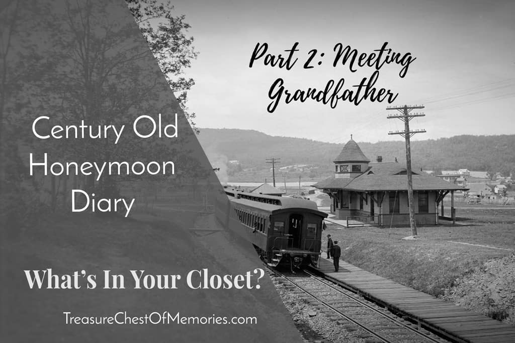 Honeymoon Diary, Part 2: Meeting Grandfather