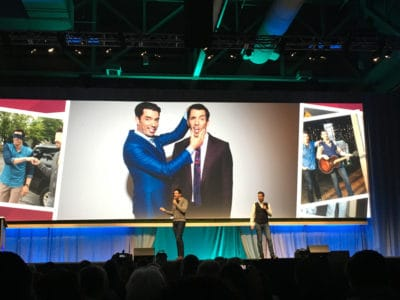 Rootstech Keynotes are always something different.