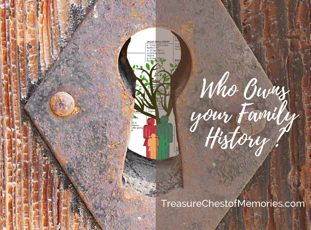 Who owns your family history?