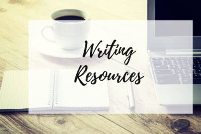 Writing Resources Graphic