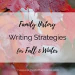 Writing Strategies for Fall Graphic