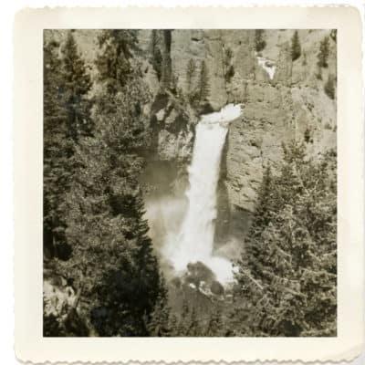 Comparing Photos across Generations Yosemite Falls then