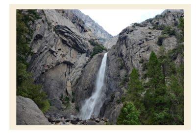 Comparing Photos across Generations Yosemite Falls 2017